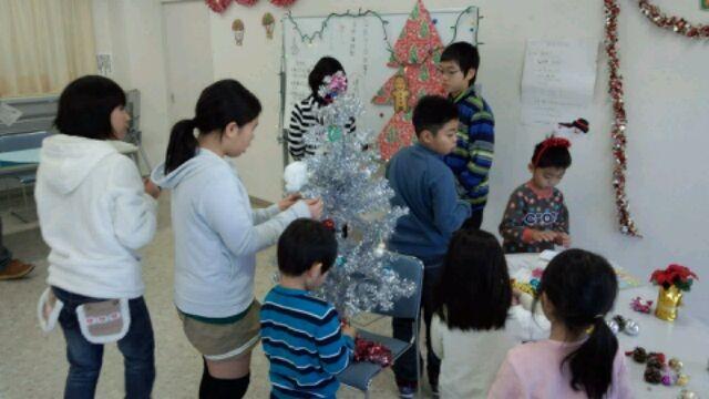 こども倫理塾クリスマスツリー